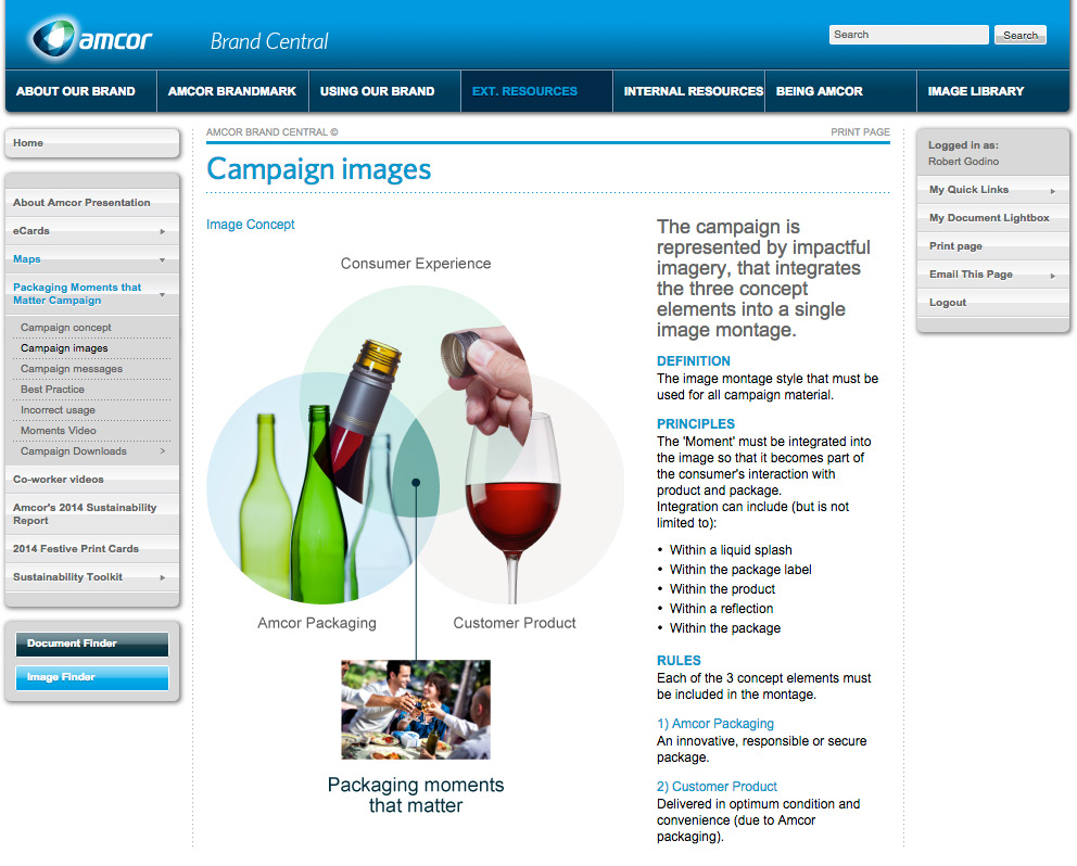 Amcor Campaign Images Page