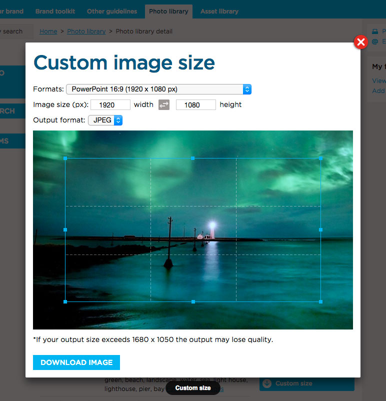 Export Custom Image Sizes Formats News2