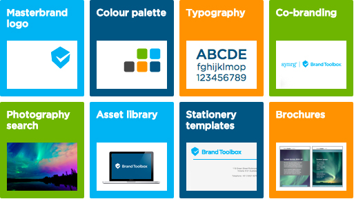 Brand Toolbox Home Page Tiles