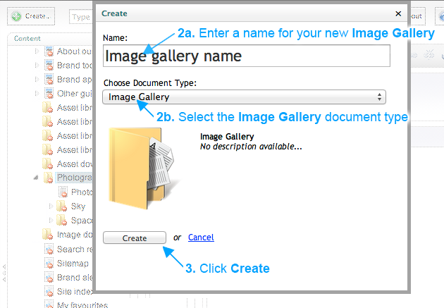 Brand Toolbox Version 3.1 Create an image gallery