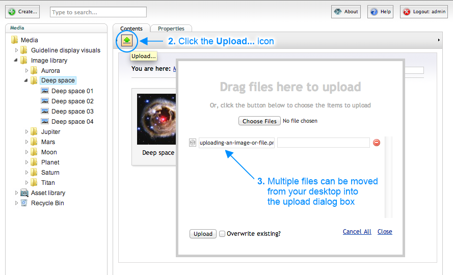 Brand Toolbox Version 3.0 Media Drag Files here to Upload