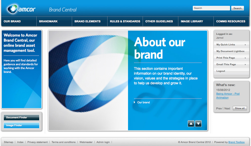 Amcor Home Page